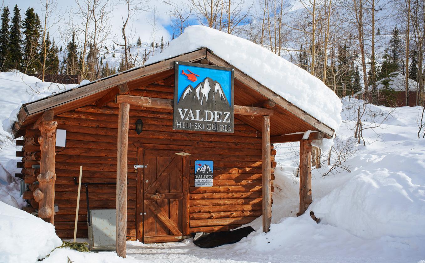 cabin VHSG tsaina lodge valdez alaska heliski